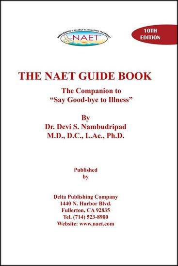 Picture of The NAET Guide Book (10th Edition)